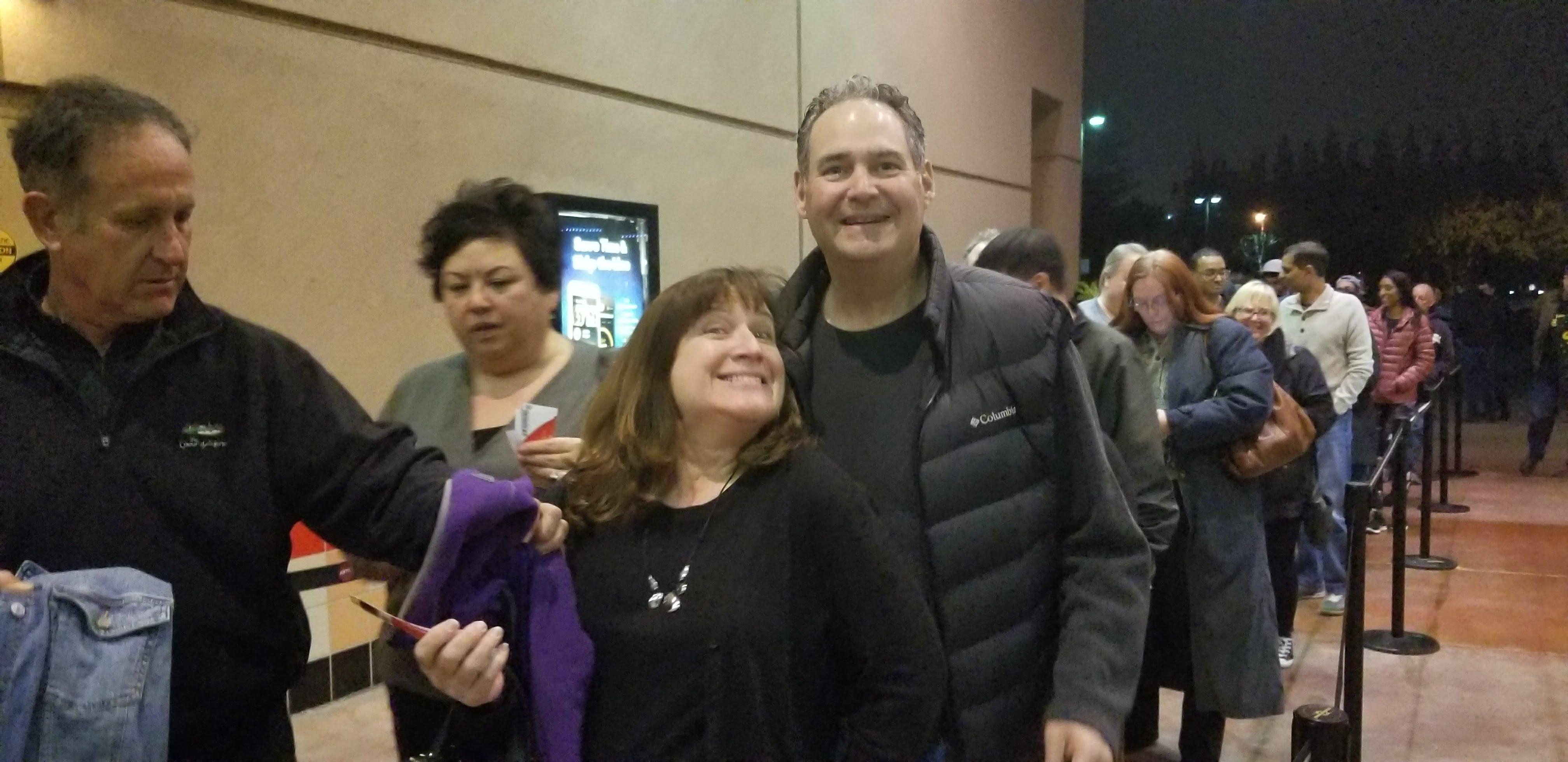 Jeanne Rosenberger with Dr. Steven Cohen