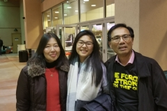 Dr. Gordon Gong and his family