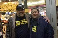 After-hours Event Manager Tim Sudano and Member/Community Programs Coordinator Michael Tran